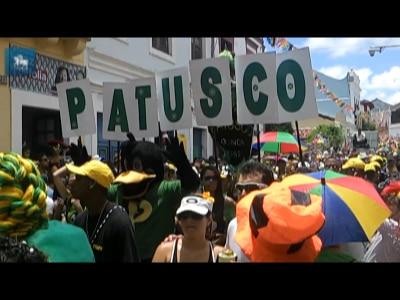 Bloco Patusco leva samba às ladeiras de Olinda