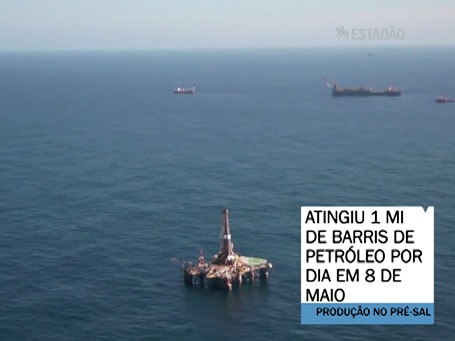Top News: Petrobras atinge 1 mi de barris de petróleo por dia no pré-sal