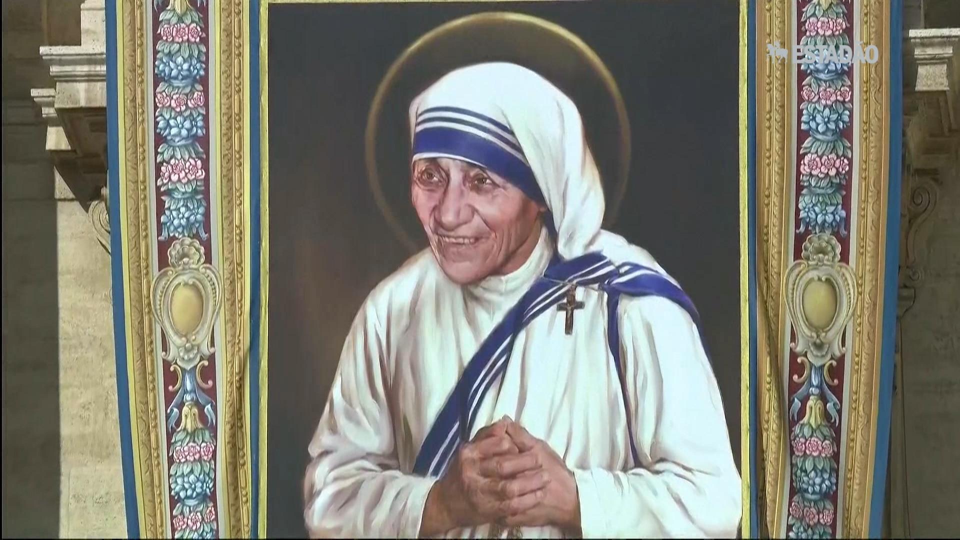 Madre Teresa de Calcutá é canonizada