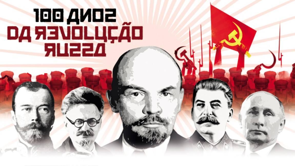 Resultado de imagem para 100 anos da revolução russa