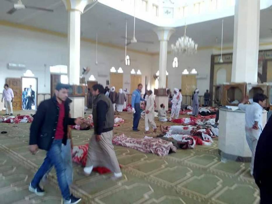 Ataque a mesquita na Península do Sinai deixou dezenas de mortos e feridos