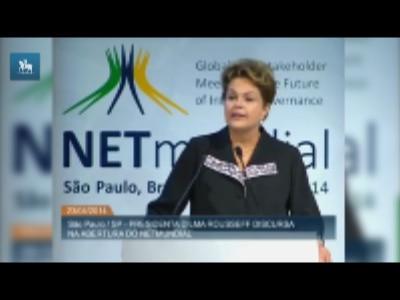 Dilma aprova Marco Civil na abertura do NETmundial
