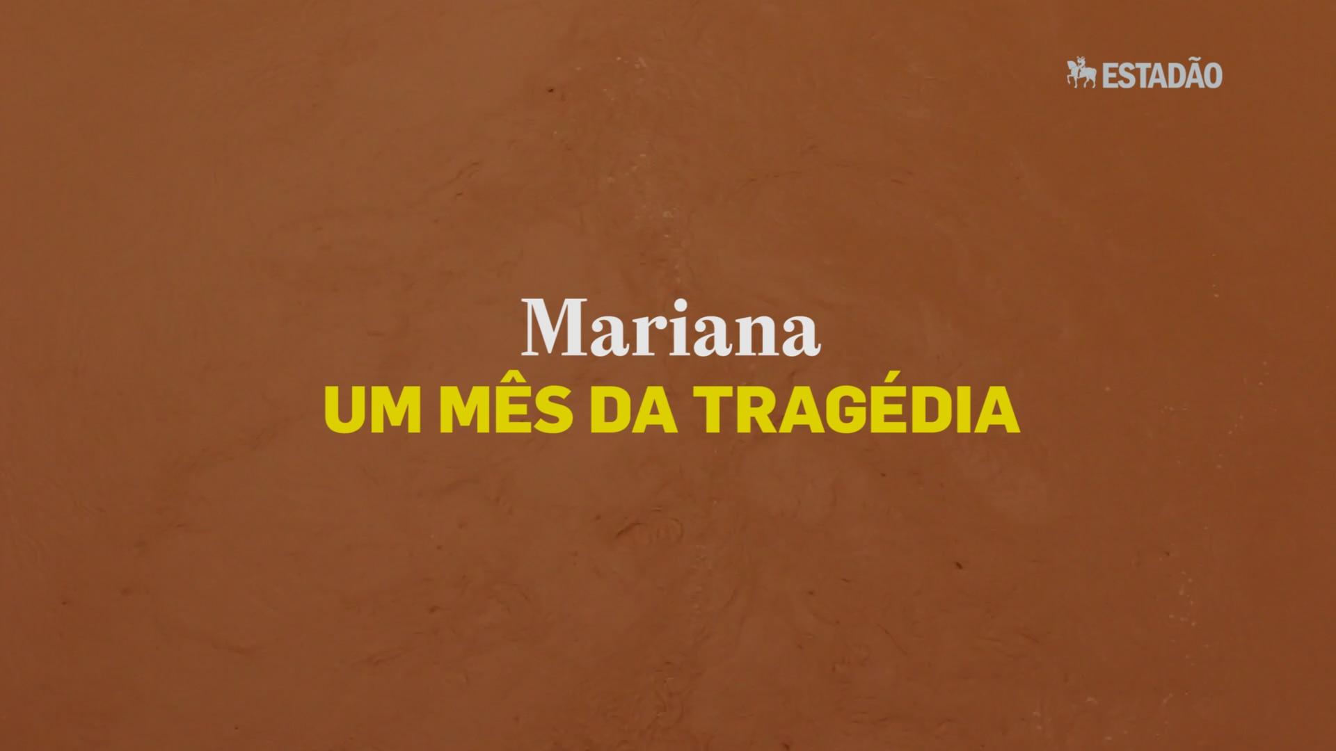 Mariana: um mês da tragédia