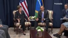 Obama anuncia visita de Dilma aos EUA