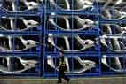 Joint venture. Fábrica da BMW construída recentemente em Shenyang com a empresa chinesa Brilliance