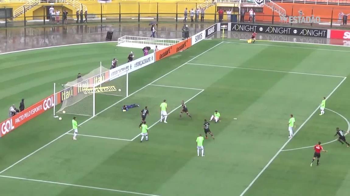 São Paulo goleia o Santa Cruz por 5 a 0
