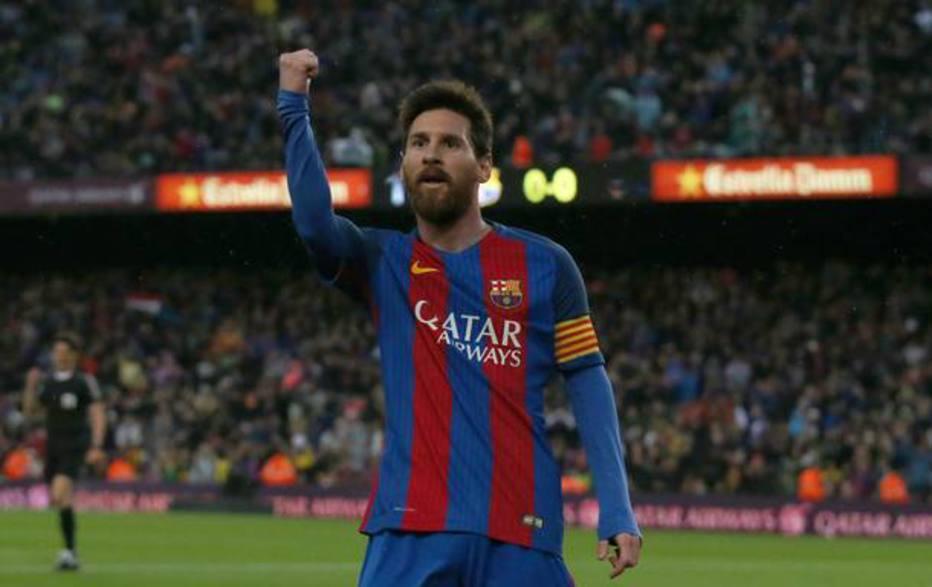 Messi renova contrato com o Barcelona