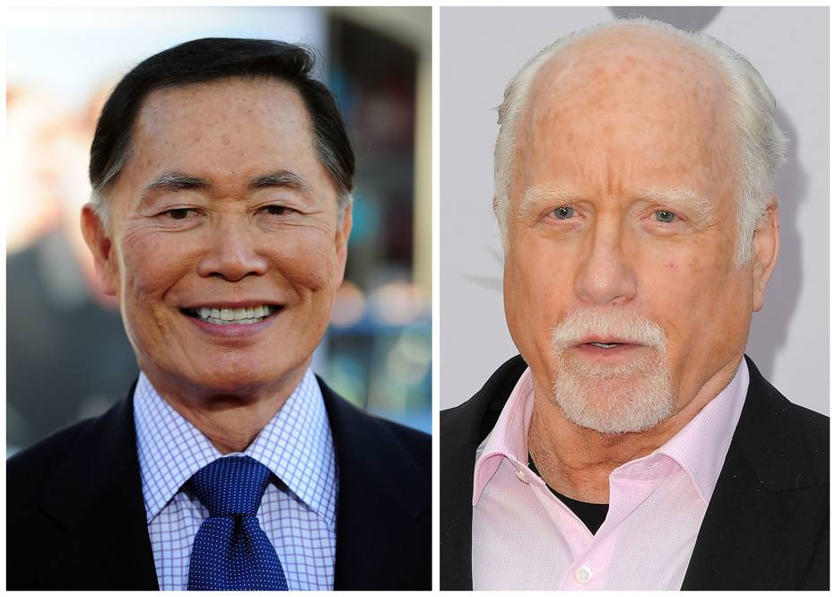 George Takei e Richard Dreyfuss enfrentam denúncias de má conduta sexual