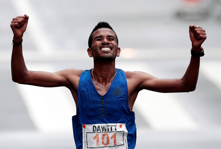 Dawit Admasu, maratonista etíope