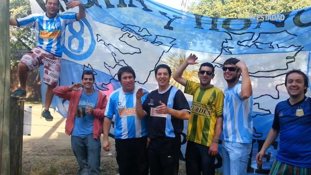 Argentinos invadem Porto Alegre