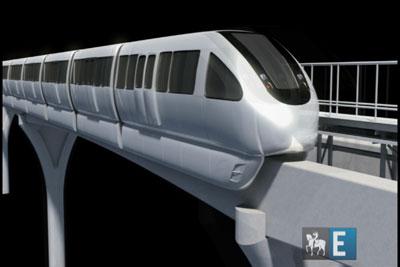 Vídeo descreve a construção do monotrilho da zona leste
