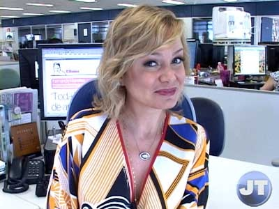 Apresentadora Eliana é a editora convidada do Jornal da Tarde