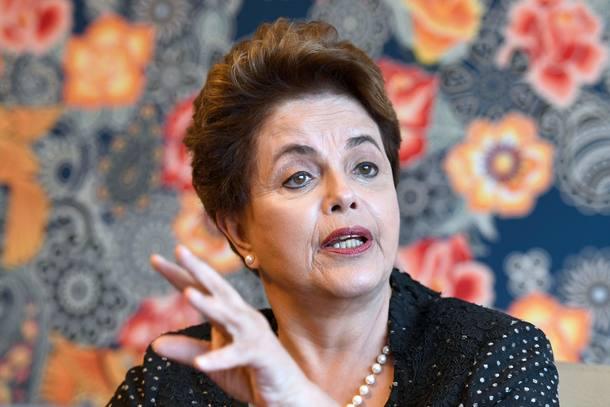 Dilma Rousseff em entrevista à agência AFP