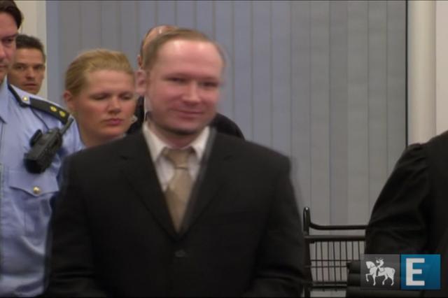 "Breivik: ""Faria tudo de novo"""