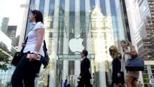 Apple ultrapassa US$ 800 bi em valor de mercado