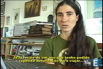 Yoani Sánchez vem ao Brasil para lançamento de documentário