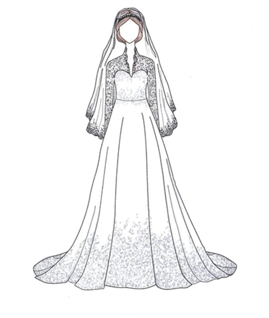 Veja Desenhos Dos Vestidos De Noiva Mais Famosos De Todos