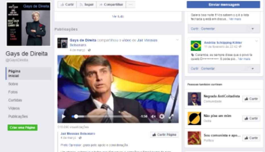 Gays de Direta - Bolsonaro