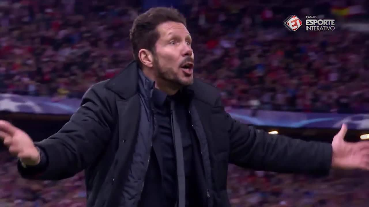 Atlético de Madrid 2x0 Barcelona - Champions League