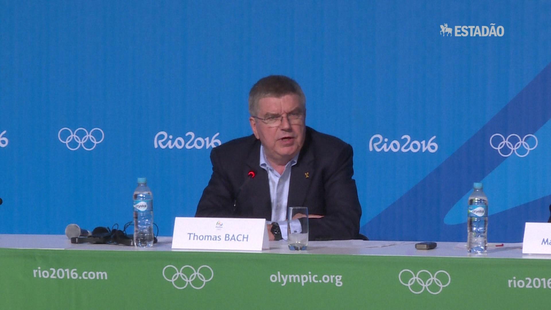 Bach promete grande Olimpíada apesar de desafios
