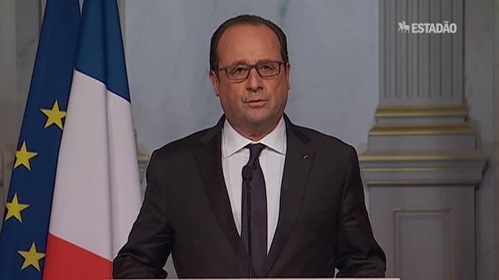 Hollande decreta estado de emergência