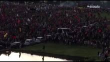 Ato contra a PEC do Teto reúne dez mil pessoas e tem confusão em Brasília