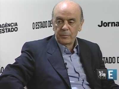 Sabatinas Estadão: José Serra, candidato à Presidência (PSDB) - parte 1