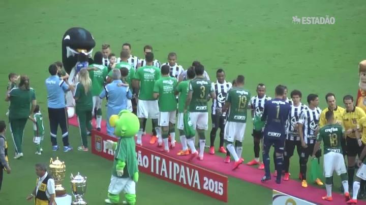 Palmeiras vence o primeiro jogo da final do Paulista; veja o gol