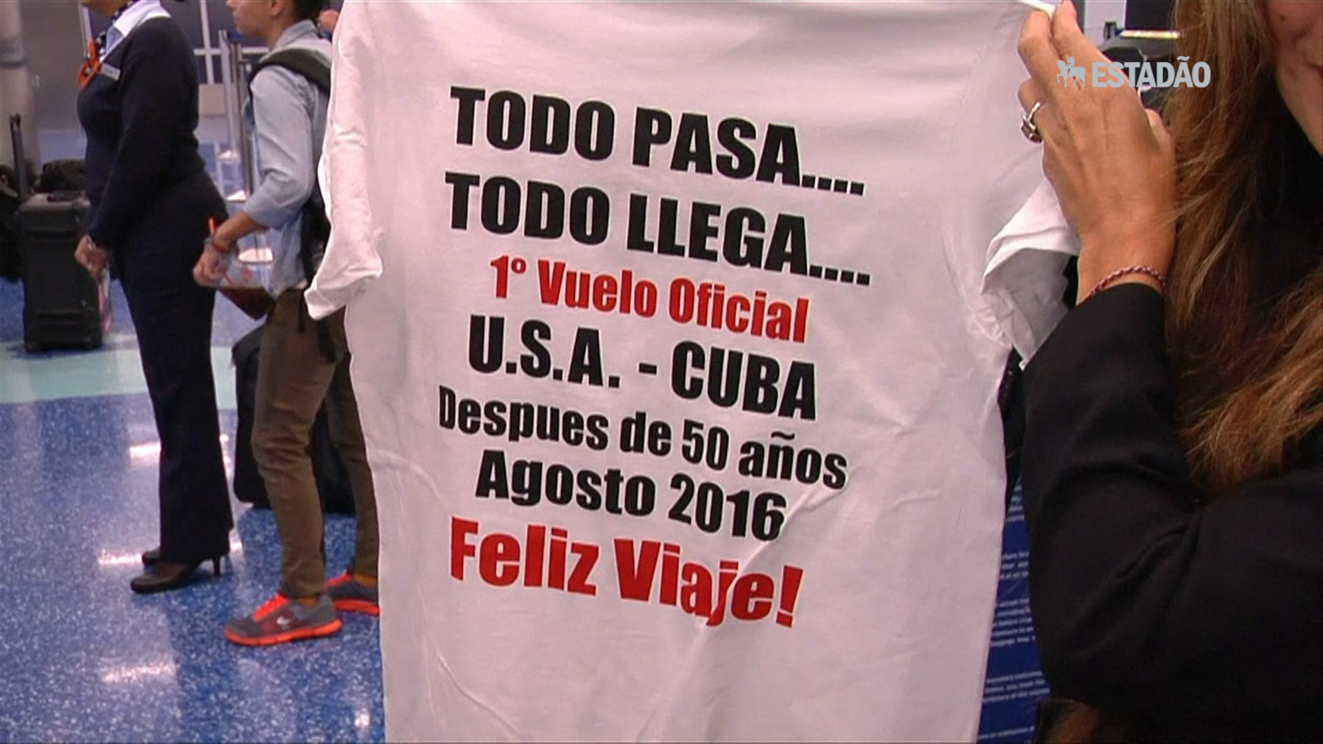 EUA tem voos para Cuba