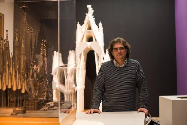Exposição resume a carreira do arquiteto Gaudí