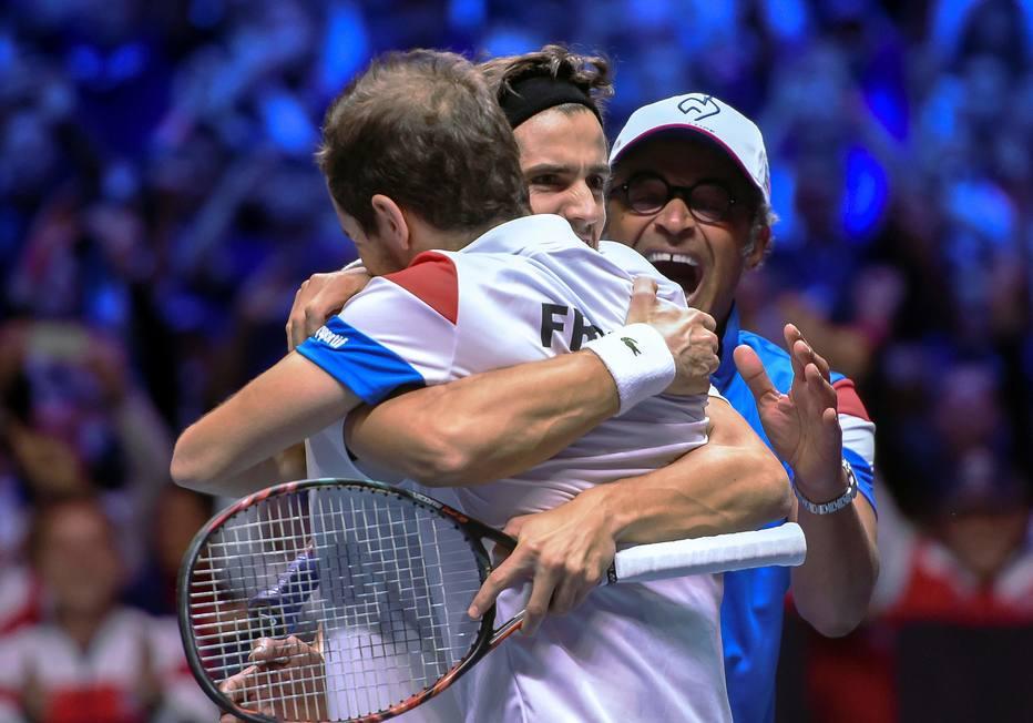 França vence Bélgica nas duplas e fica a uma vitória da taça na Copa Davis