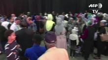 Muçulmanos rezam por Muhammad Ali