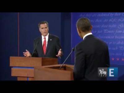 Romney confiante coloca Obama na defensiva