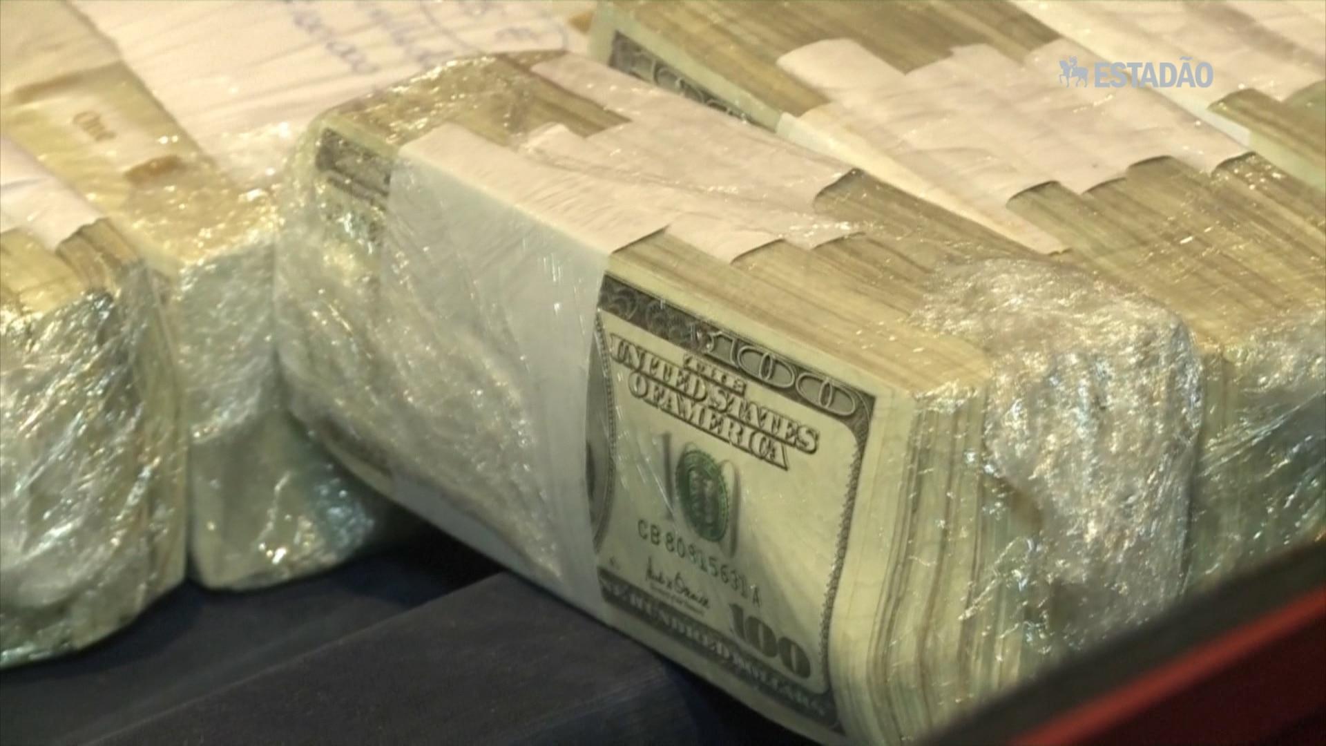 Deputado argentino enterra dinheiro e é preso