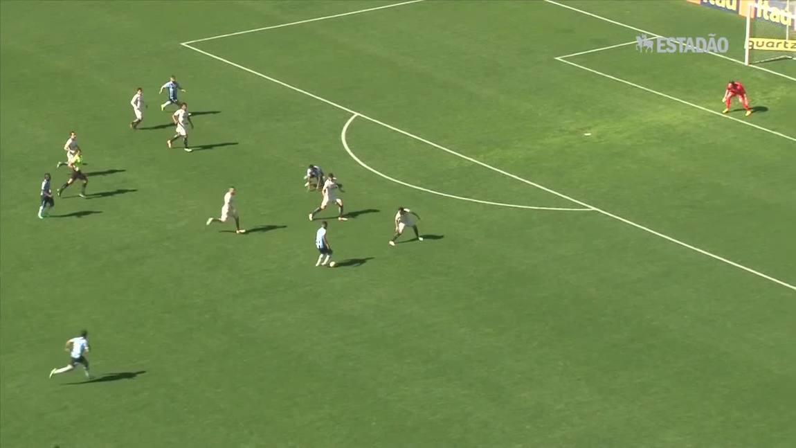 Grêmio derrota o Corinthians por 3 a 0