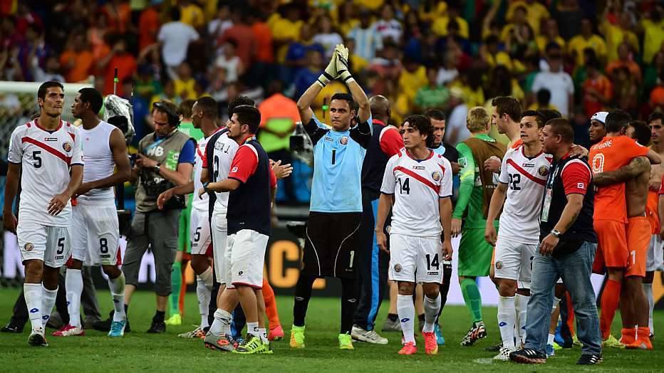 Ao passar para as quartas de final, a Costa Rica já tinha quebrado o recorde de melhor campanha de uma seleção da América Central na história das Co