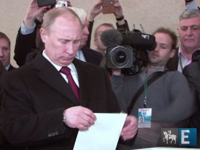 Putin é reeleito presidente da Rússia