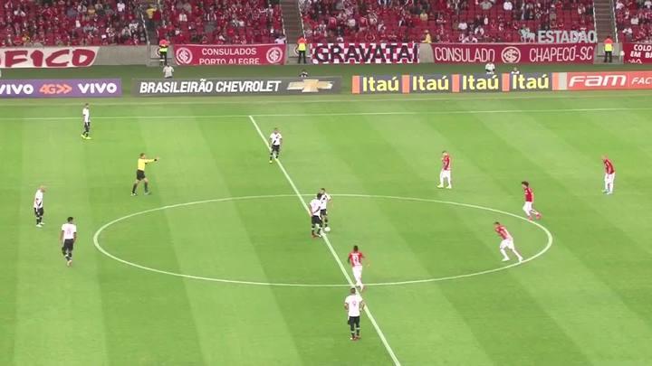 Inter goleia o Vasco por 6 a 0; veja os gols