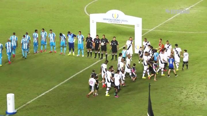 Vasco vence o Avaí por 1 a 0; veja o gol