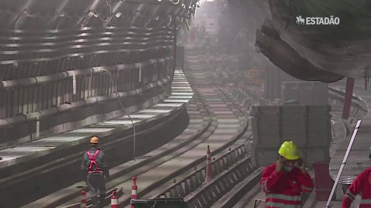 Pezão: 'metrô vai ficar pronto para os Jogos'