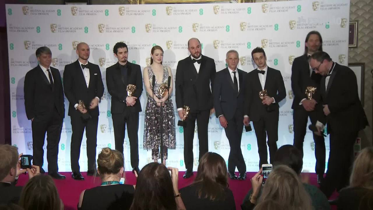 'La La Land' brilha no Bafta