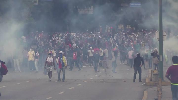 Maduro denuncia intervenção americana