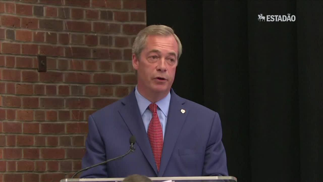 Nigel Farage renuncia como líder do UKIP