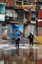 Osasco sofre alagamento após chuvas