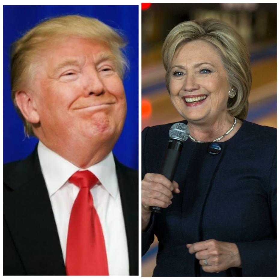 Superterça consolida liderança de Hillary e Trump em prévias