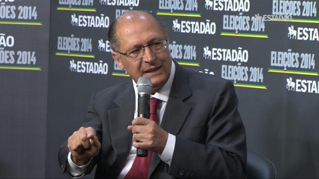 Não há necessidade de racionamento em SP, afirma Alckmin