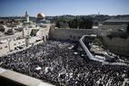 Páscoa leva milhares ao Muro das Lamentações