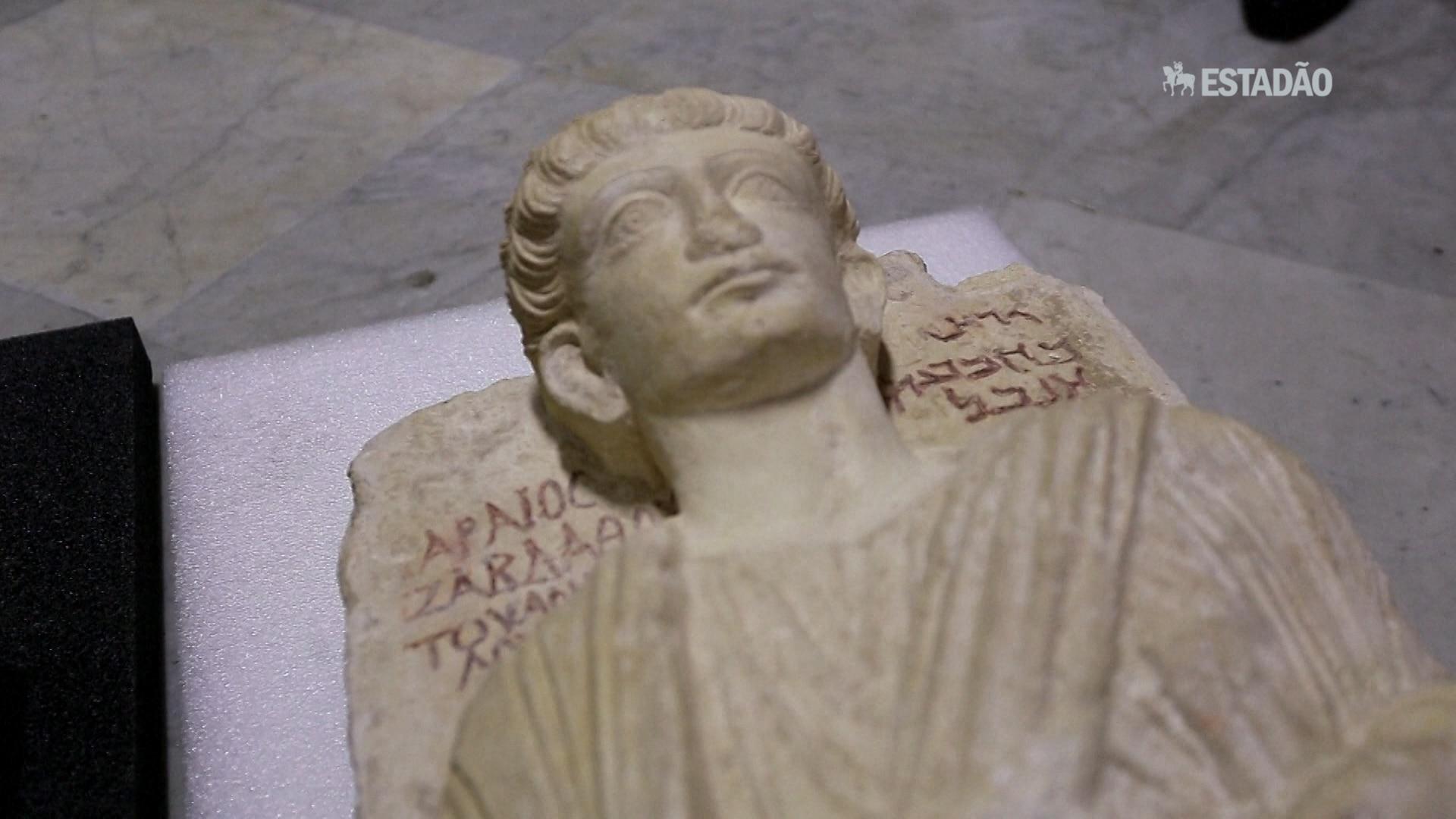 Peças de Palmira são restauradas