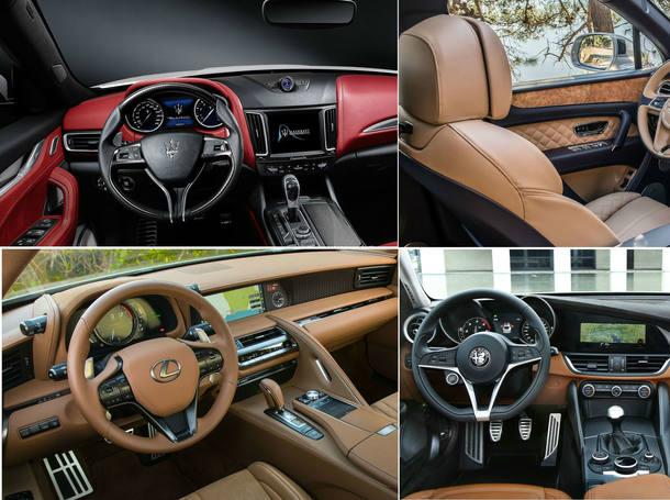 Os melhores interiores de carros
