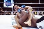 Em 2002, já lutando pelo evento Pride, Minotauro conquistou uma das maiores vitórias de sua carreira, contra o gigante Bob Sapp. Após aguentar pancadas por 14 minutos, o brasileiro conseguiu uma chave de braço para vencer a luta